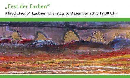 """Ausstellungseröffnung """"Fest der Farben"""" – Alfred Lackner"""