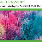 """Ausstellungseröffnung """"Malen als Lebensspur"""" – Linde Pauschenwein"""