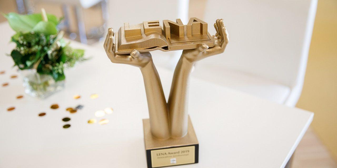 1. WIFI Wien-LENA AWARD verliehen