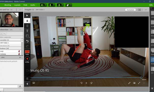 Aus der Praxis: Distance Learning an der WIFI Wien Gesundheits- und Sportakademie